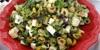 Zeytinli Peynirli Kahvaltı Salatası