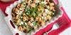 Ilık Makarna Salatası (domatesli tulum peynirli)