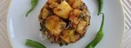 Patates Salatası (nar ekşili)