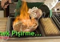 Yemek pişirme...
