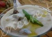 Patlıcanlı Biberli Ayran Çorbası