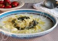 Lahana Çorbası (tuzlu yoğurtla)