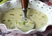 Sütlü Pırasa Çorbası