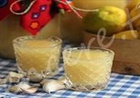 Limon Suyu Sarımsak Kürü