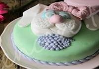 Şeker Hamuru Kaplı Yaş Pasta Yapımı