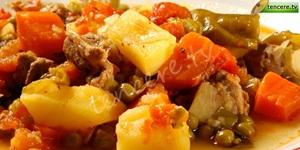 Güveçte Sebze Kebabı