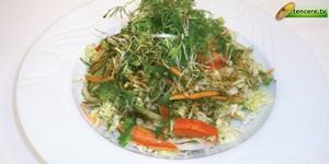 İnce Kıyım Yeşil Salata