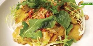 Kişnişli Sebze Salatası