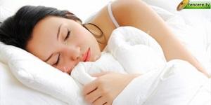 Zayıflamanın en kolay yolu iyi uyumak.