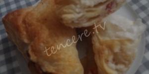 Pastırmalı Kaşarlı Milföy Böreği