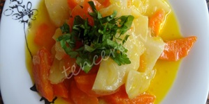 Zeytinyağlı Portakallı Yer Elması