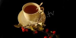 Boğaz ağrısına kuşburnu çayı