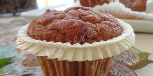 Hurmalı Cevizli Muffin