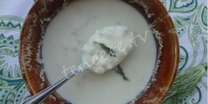 Döğmeli Ayran Çorbası