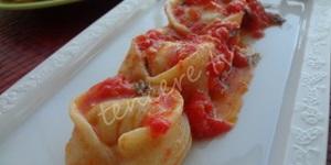 Köz Patlıcan Dolgulu Tortellini