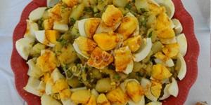 Yumurtalı Patates Salatası