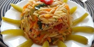 Sebzeli Arpa Şehriye Salatası