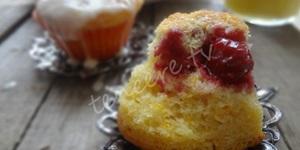 Portakallı Vişneli Muffin