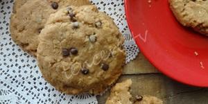 Damla Çikolatalı Yulaflı Cookie