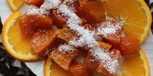Sütlü Portakallı Kabak Tatlısı