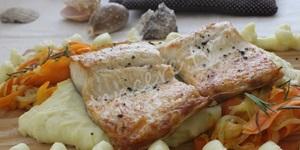 Patates Püreli Sebzeli Izgara Somon