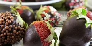Çikolatalı Çilekler