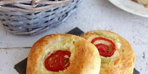 Peynirli Minik Pizza
