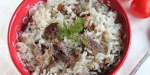Kavurmalı Pirinç Pilavı