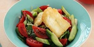 Hellimli Mevsim Salatası