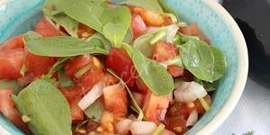 Pirpirim (semizotu) Salatası