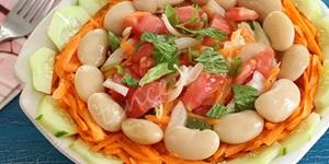 Fasülyeli Şık Salata