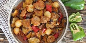 Kuzu Etli  Patlıcan Yemeği