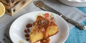 Portakal Şuruplu Glutensiz Kek