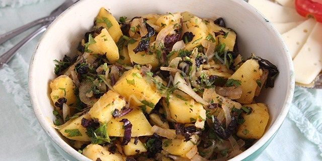 Reyhanlı Patates Salatası