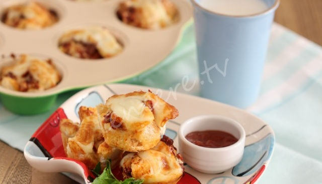 Kalan Ekmekten Kahvaltılık Muffin